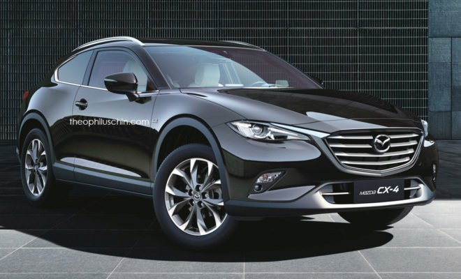 Mazda CX-4 Theophilus Chin