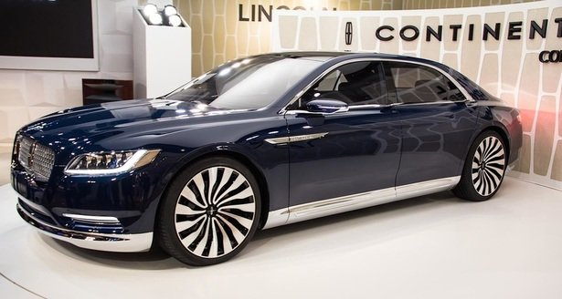 2017-Lincoln-Continental-exterior