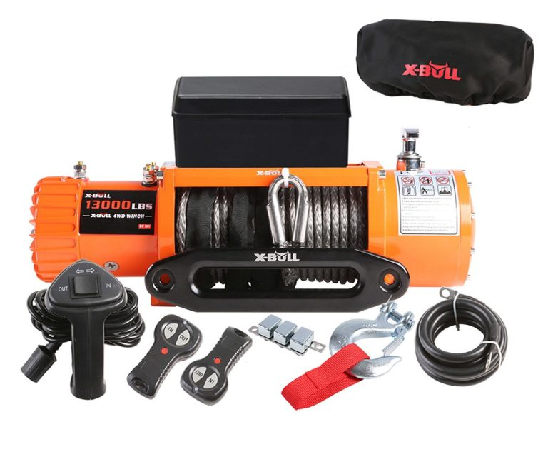 X-BULL-IP67-12V-Electric-Winch-Review