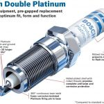 Second pic of Bosch 8161 Double Platinum Spark Plug