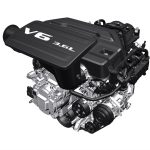 Pic of 3.6L Pentastar® V6 Engine with eTorque
