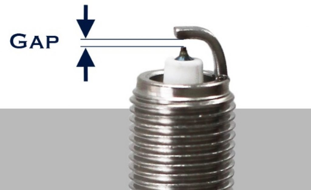 Picture of a Spark Plug's Gap