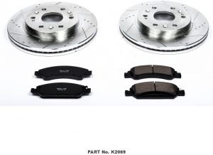 Contents of Power Stop K2069 Front Brake Kit