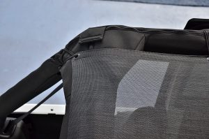 Second Pic of SPIDERWEBSHADE Mesh Shade Top with Sunshade UV Protection for Jeep Wrangler