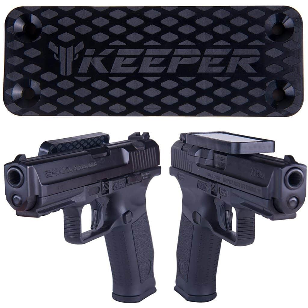 Top 5 Best Car Gun Magnets — Keeper Magnetic Gun Mount and Holster