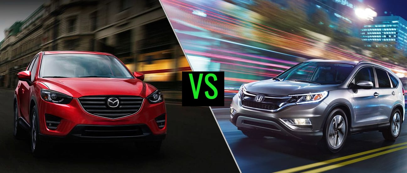 2016 responsive comparison mazda cx5 vs 2015 honda crv 1