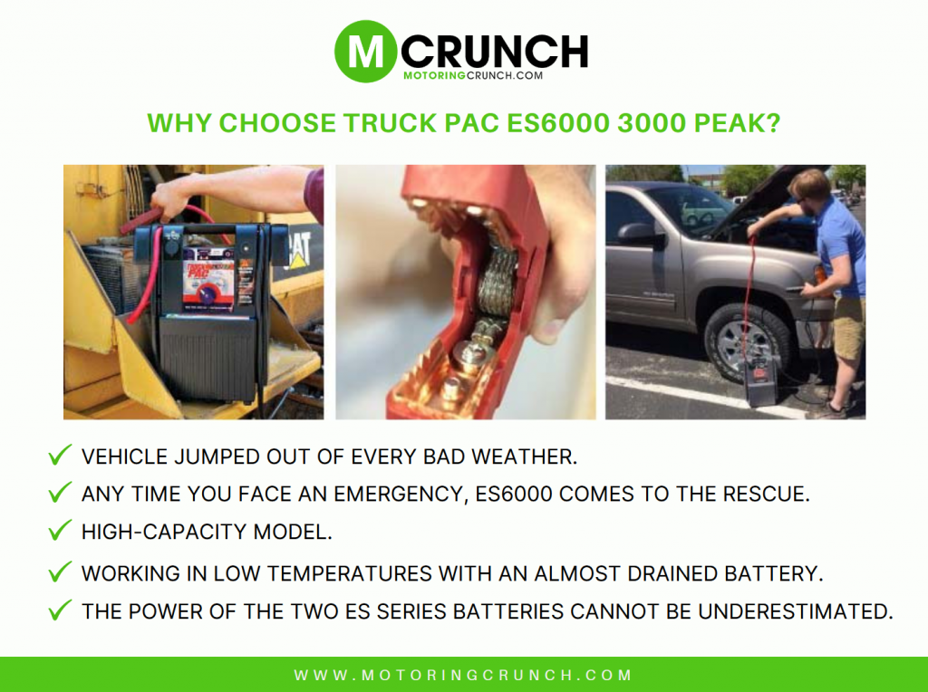 Why Choose Truck Pack ES6000 Peak