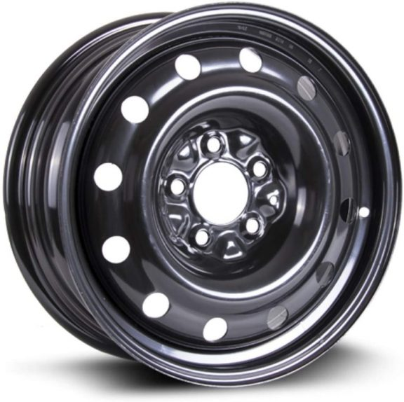 An aftermarket wheel from RTX designed as a replacement to OEM parts