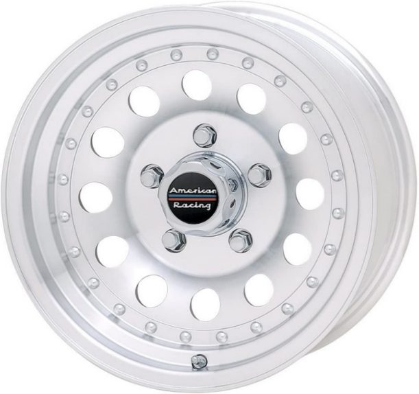 SHown is American Racing Outlaw II model size 15. It is another classic design from the company with more than 60 years of innovative wheel technology under its belt.