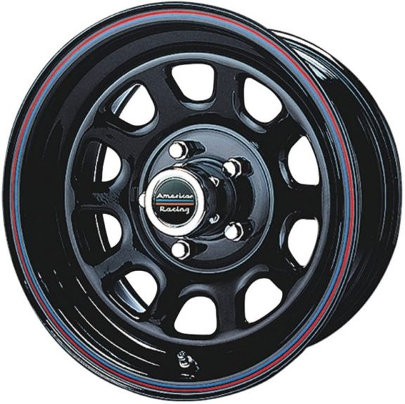 The Series AR767 by American Racing is a classic wheel design that mimics OEM stock wheels but is made of aluminum. IT gives that classic vibe but with lighter materials. It not only fits Ford Rangers well but also classic muscle cars.