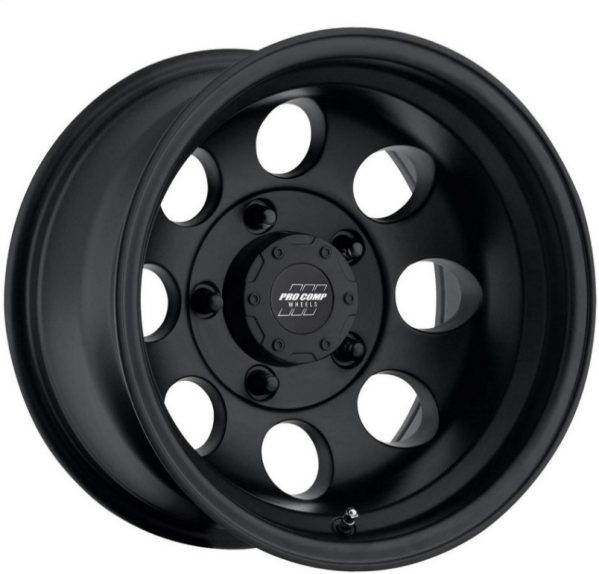 This wheel from ProComp is a classic as it improves form the design of OEM steel wheels but with Pro Comp Innovations.