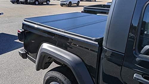 RDJ Trucks 65-Series hard folding tonneau bed cover for Jeep Gladiator