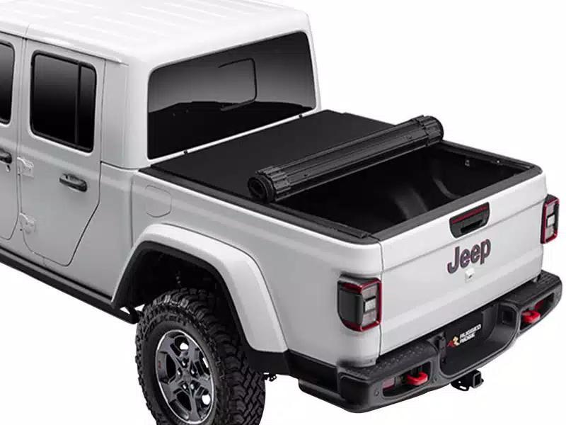 Rugged Ridge Armis hard folding bed cover For Jeep Gladiator