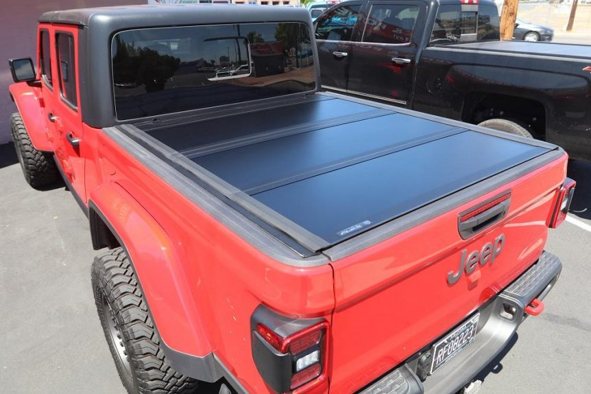 UnderCover Ultra Flex hard folding tonneau cover for Jeep  Gladiator