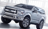 2017 Ford Bronco Returns To The Stage
