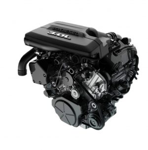 Pic of 3.0L EcoDiesel V6 Engine