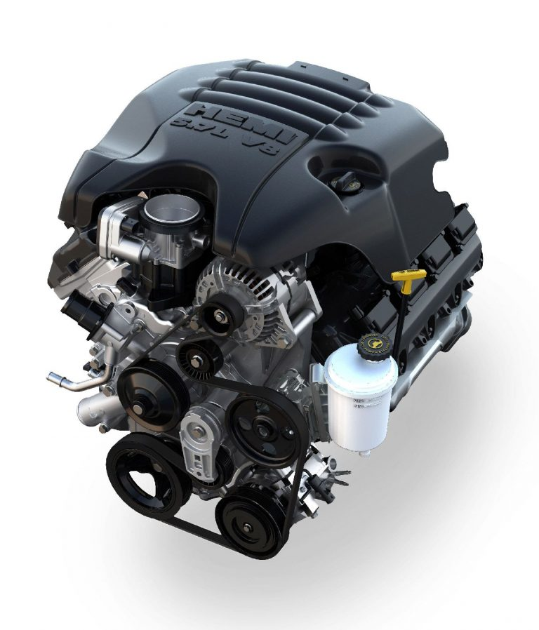 Pic of 5.7L HEMI® V8 Engine with eTorque
