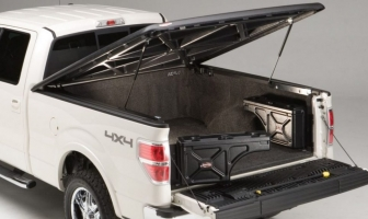 SWING OUT AND REACH IN, THE WHEEL WELL TOOL BOX